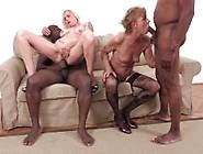 Two Blonde Grannies In Ir Dp Orgy
