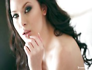 The Beautiful Model Milena Poses Naked,  Showing Off Her Beauty