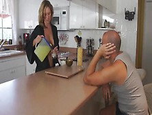 Jodi West-Naughty Mommy In Kitchen