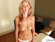 Horny Blonde Milf From Look4Milf. Com Swallows Cum