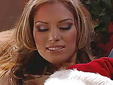 Jennifer Luv Has Sex With Naughty Santa Claus
