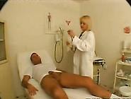 Nasty Blonde Appreciates Clinic Shag