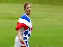 Naked Soccer Girl
