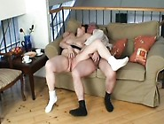 Big Breasted Granny Ivana Has A Dirty Old Man Fucking Her Lovely
