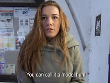 Amateur Czech Model Picked Up On The Streets