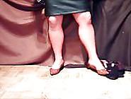 Dwt Posing Masturbating Nylon Pantyhose Flats And Heels 01