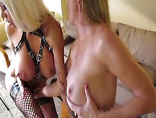 Nikita Von James And Amber Michaels Get Acquainted.