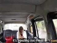 Lovely Blonde Woman Appreciates Ass Banging As Taxi Installment