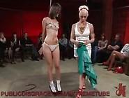 Kristine Kahill In Nasty Public Bondage