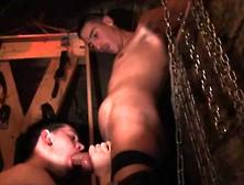 Gay-Pissed In Darkroom