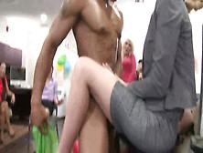 Real Cfnm Party Amateur Sucks Stripper Cock