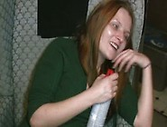 Crazy Whore Jessi High On Crack & Can Of Air