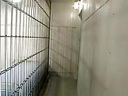Two Female Officers Dominate Prisoner