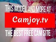 Hot Milf Rides Dildo On Table - Webcam