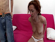 Old Redhead Mature Seduces And Fucks A Young Teen