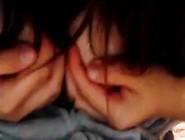 【無】【ニコ生Ban】やわらかそうなおっぱいのピチピチ18歳Jdが、手ブラからのー?ポロリしてみた。