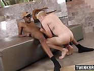 Big Dick Twinks Interracial And Facial Cum