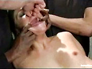 Babe Has Fantasy Fucked By Group Of Men