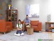 Dad Fucks His Asian Stepdaughter