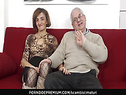Scambisti Maturi - Mature Italian Swinger Gets Her Asshole And H