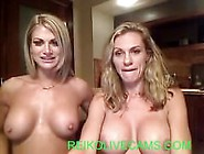 Two Hot Chicks Fucking With Strapon