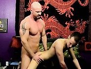 Gay Movie Of He Slides His Chisel Into Chris' Tight Hole,  P