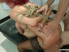 Joslyn James Gets Sandwiched By Two Guys