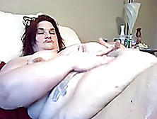 Ssbbw White Lady On Webcam Can Barely Move From Side To Side