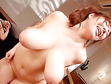 Asian Women With Enormous Tits Get Fucked In A Foursome