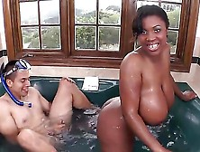 Maserati Is A Black Girl That Is With A White Dude.  He Is Sticki