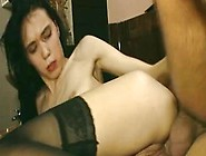 A Little German Slut Will Be Caressing Her Smashed Ass Hole