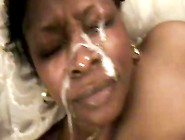 Amateur Black Granny Face Fucked And Takes A Huge Load