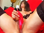 Slutty Mature Lady In Stockings Kelly Has A Horny Man Plowing He