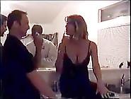 Blonde Slut Milg Gangbanged