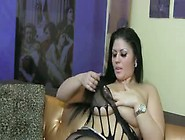 Tila Plays With Her Huge Tits