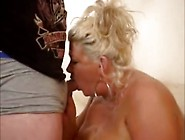 Big Titted Mature Blonde Southern Granny Milf Giving A Great Blo