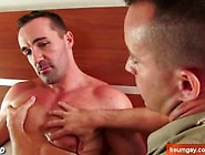 Huge Chest Guy Gets Sucked By A Hotel Client For Huge Money !