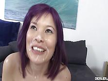Chicasloca - Japanese Babe Miyuki Son Enjoys Eating Cock Outdoor