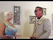 Claudia Marie Is Using Her Gigantic Milk Jugs To Turn On A Guy S