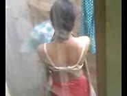 Tamil Teen Outdoor Bath Secretly Captured By Neighbor