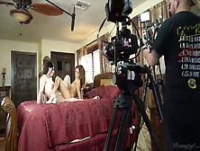 Torrid Milf India Summer Gives And Interview After Lesbian Scene
