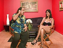 Ron Jeremy Interviews Smoking Hot Sunny Leone