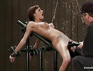 Kinky Gia Dimarco Likes To Be Forced To Cum While She Can't