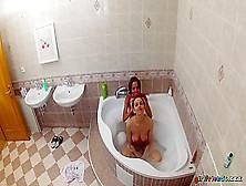 Amazing Pornstars Eufrat,  Veronica Vanoza In Best Showers,  Colle