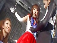 Japan Super Heroine Tickling