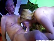 Young Witch Sucks And Swallows A Senior's Semen