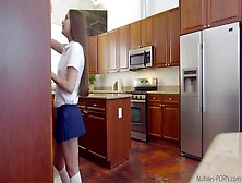 Naughty Teen Punished