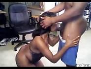 Horny Black Girl Milks Boyfriends Cock
