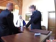 Hotel Room Arab Chick Rough Riding Big Schlong Video