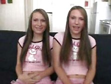 The Simpson Twins Being Bad Girls